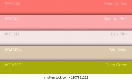 Color Palette Guide. Web colors. Sample Colors Catalog. selection of colors in web design HTML. Multicolored bright background. RGB. CMYK. Printing house. Web Design Template Graphic Concept