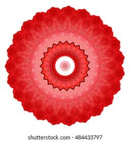 Color pattern . Mandala.