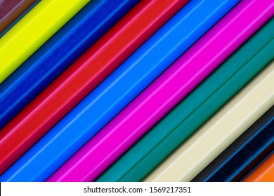 Color pencils isolated on a white background. - Shutterstock ID 1569217351