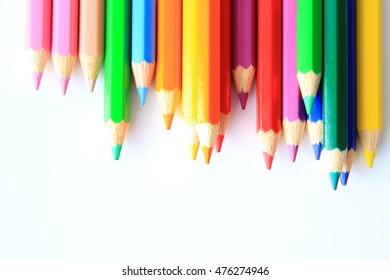 color pencils as wallpaper