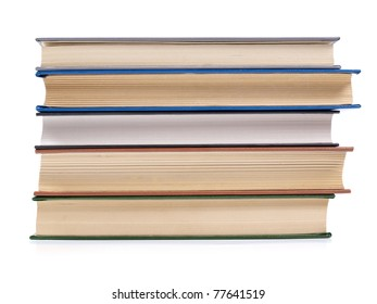 Color photo of a large old book