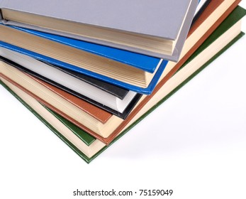 Color photo of an old classic book closeup