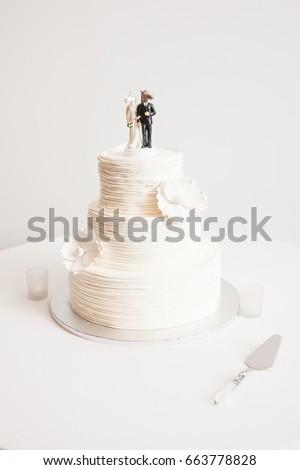 Color Photograph Wedding Cake Fun Unicorn Stock Photo Edit Now