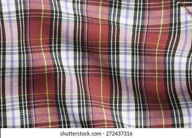 Color plaid , Flannel Fabric Texture or background