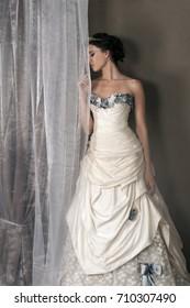 Wedding Dress Color Ivory Images, Stock Photos & Vectors | Shutterstock