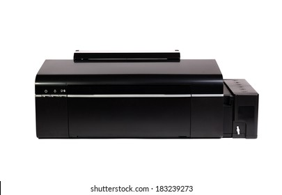 Color Printer isolated on white background