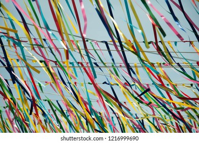 Color ribbon for background