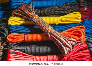 color rope parachute cord