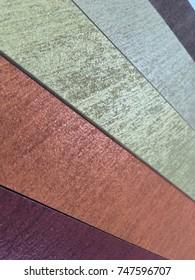 Color sample stack