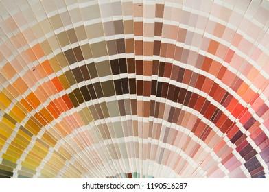 color sampler close-up