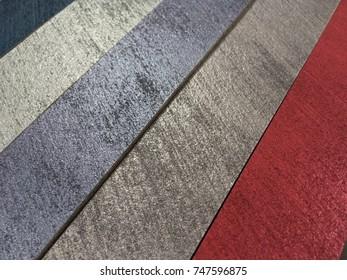 Color samples stacks