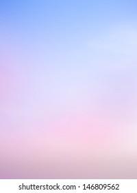 Color sky , background