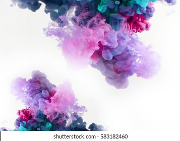 color smoke underwater. Abstract background