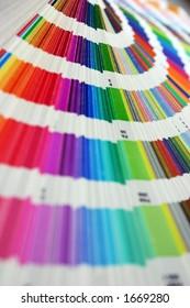 Color spectrum/Pantone sampler