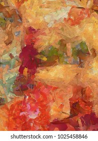 Color splash background design of fractal paint and rich texture on the subject of imagination, creativity and art. Stock. Watercolor hand drawing. Good for wallpapers, posters, cards or invitations