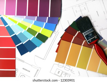 Color Swatches and plans