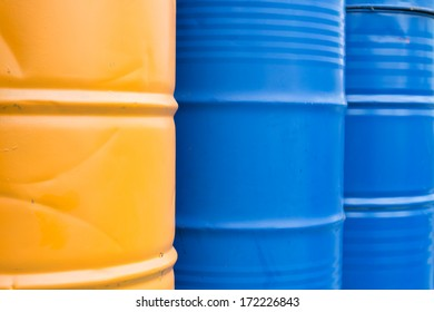 Color tank oil