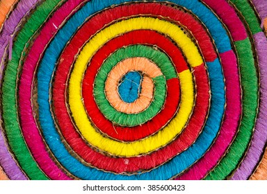 color of threads in Circle backgound