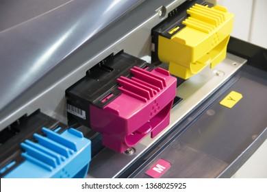 Color toners in the digital printer - Image