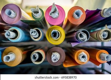 Color vinyl rolls