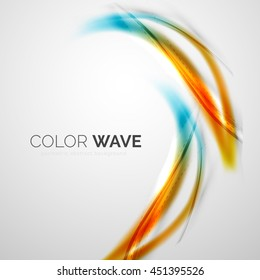 Color wave design element