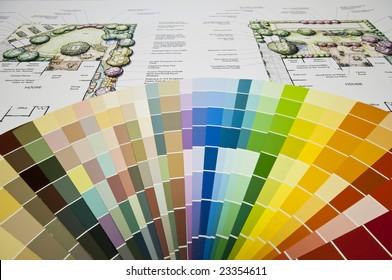 Color Wheel and Landscape Design