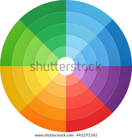 color wheel natural color paper material stock photo edit now rh shutterstock com