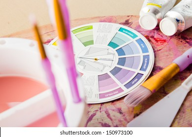 Color Wheel and Other Painting Accessories & Supplies