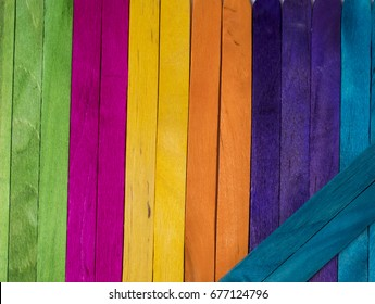 Color wood as a background and decoration idea./ wood background.