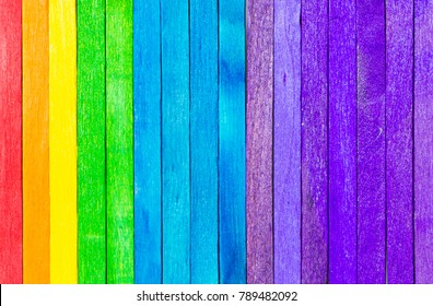 Color wood planks for background texture. Creative Multicolored Wood Background. Colorful of wood table. Colorful wood flooring.