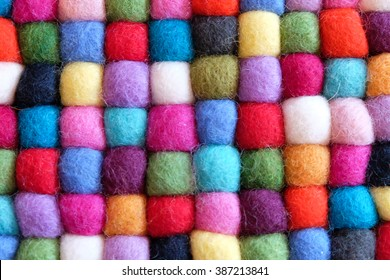color wool background