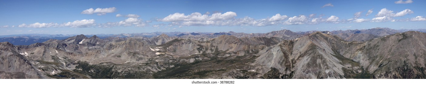 Colorado fourteener panorama