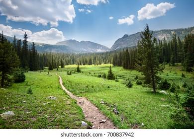 Colorado Mountain Hiking Trail