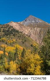Colorado Mountain Landscape in Autumn