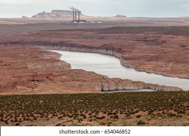 Colorado River Flowing to Lake Powell
