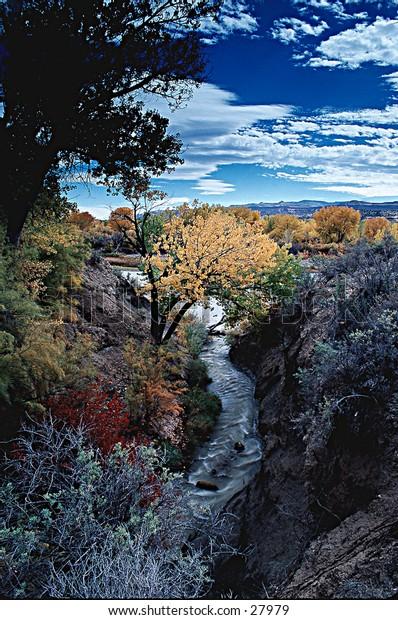 Colorado River at Grand Junction, Colorado.
