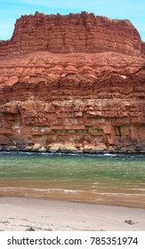 Colorado River at Lees Ferry - Mile one of the Grand Canyon