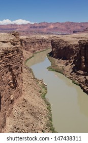 Colorado River at Marble Canyon near Lee's Ferry