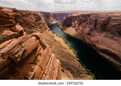 The Colorado River upstream from Big Bend, Arizona.