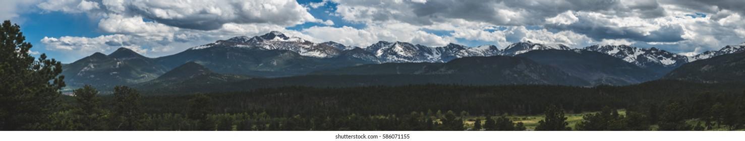 Colorado Rocky Mountain Panorama