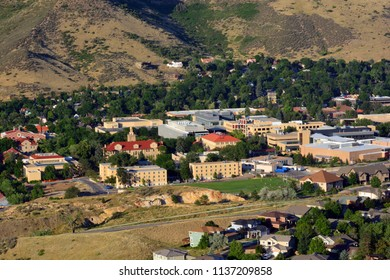 Colorado School of Mines campus on a sunny day