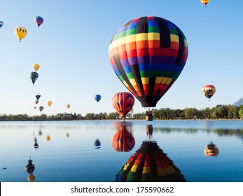 COLORADO SPRINGS, CO - SEP 1, 2012: The 36th annual Colorado Balloon Classic and Colorado's largest Air Show.