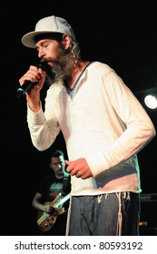COLORADO SPRINGS, CO. USA – JULY 3:Vocalist/Rapper Matisyahu performs in concert July 3, 2011 at the Black Sheep Theater in Colorado Springs, CO. USA