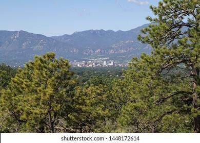 Colorado Springs Skyline from Palmer Park