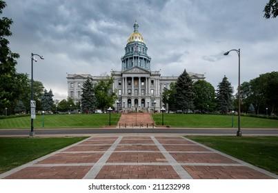 Colorado State Capitol building in Denver, Colorado