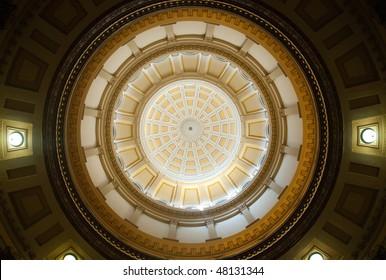 Colorado State Capitol Building interior rotunda