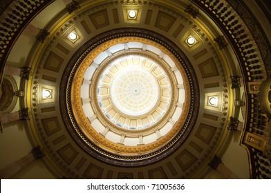 Colorado State Capitol Building rotunda dome