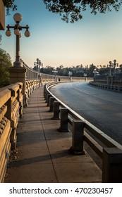 Colorado Street Bridge in Pasadena, California