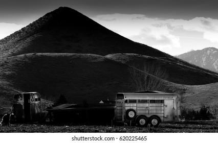 Colorado trailer at Haystack Mountain