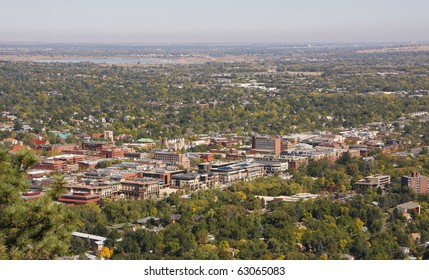 Colorado University Aerial View